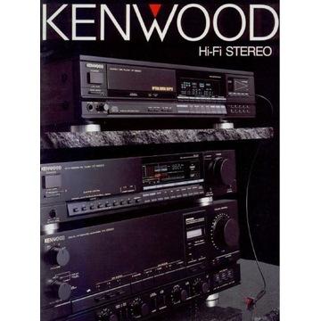 Katalog KENWOOD z 1988-1989