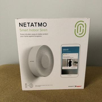 Netatmo Smart Indoor Siren | Syrena | Alarm