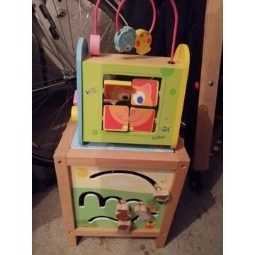 Zabawka edukacyjna drewniana