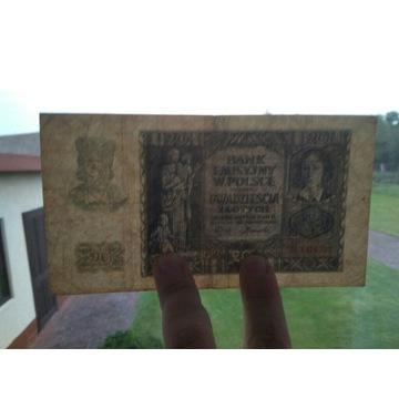 20 ZŁ 1940 Bank Emisyjny