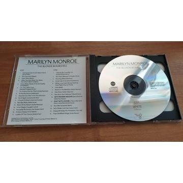 """Marilyn Monroe  """"The Blonde Bombshell""""  CD x2"""