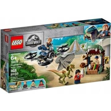 LEGO JURASSIC WORLD 75934 DILOFOZAUR NA WOLNOŚCI