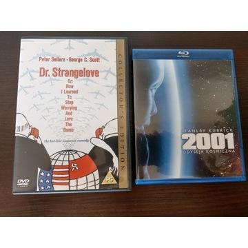 KUBRICK Dr Strangelove + 2001: Odyseja kosmiczna