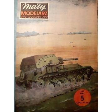 SU-76 M - radzieckie działo samobiezne [MM 5/1983]