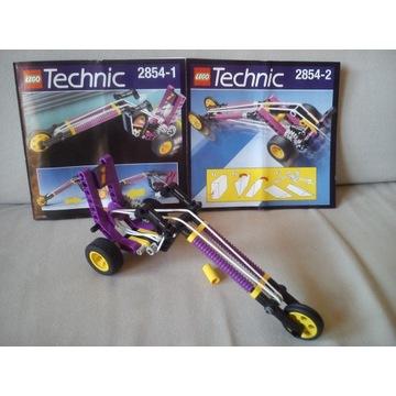 LEGO TECHNIC 2854 kompletny instrukcje UNIKAT
