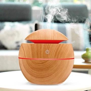 Nawilżacz powietrza-nawilża i świeci w 7 kolorach