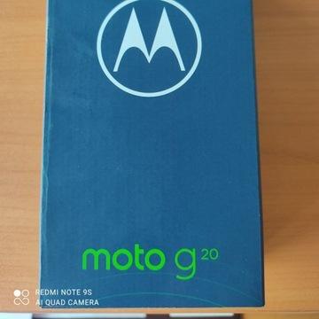 Smartfon Motorola moto g 10 4/64 GB - błękitny