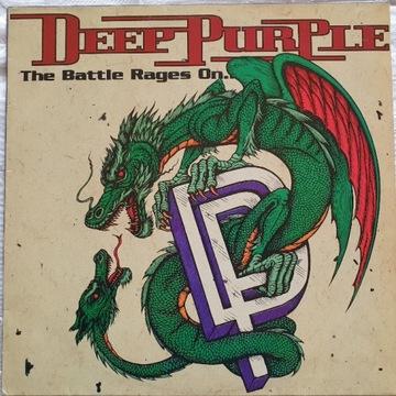 DEEP PURPLE LP THE BATLLE RAGES ON. NM. BRAZYLIA