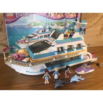 Lego friends 41015 jacht wycieczkowy yacht delfiny