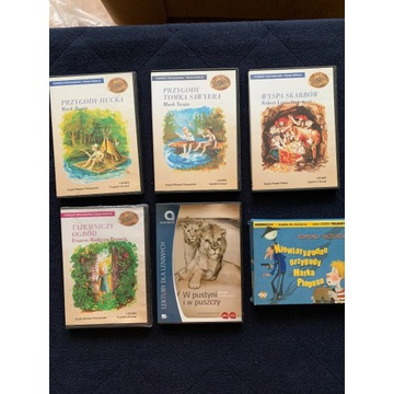 zestaw CD-mp3 autor Twain, Stevenson, Si inni