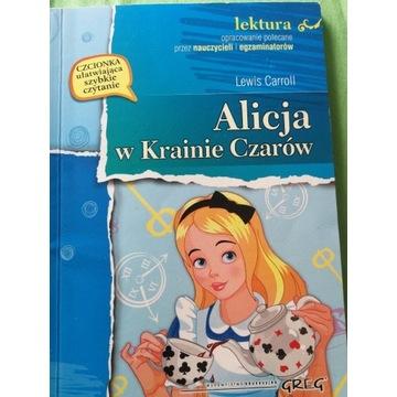 Alicja w krainie czarów lektura