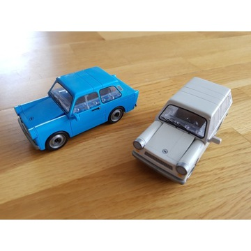 Cobi dwa Trabanty 601