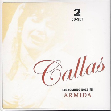 MARIA CALLAS LIVE Rossini - Armida 2cd