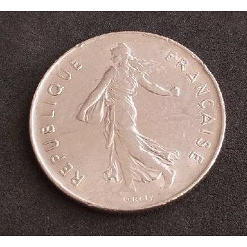 Moneta 5 francs 1974 Republique Francaise