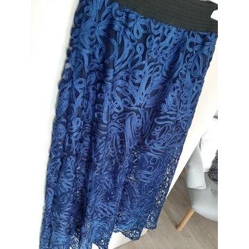 Przepiekna spódnica jak tiulowa, 3d, asymetryczna.