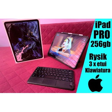 Ipad Pro 2018 (11) - 256GB - KLAWIATURA + RYSIK