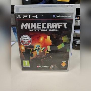 PS3 Minecraft bdb komplet Polska wersja