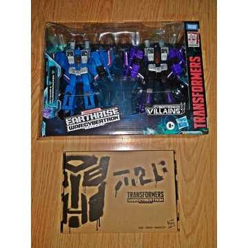 2x Transformers WFC EARTHRISE Exlusives