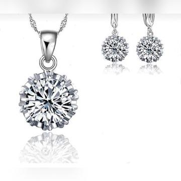 Zestaw biżuterii pięknej dla kobiet
