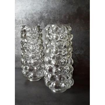 "Lampki 2 szt. Helena Tynell ""Bubble Glass""lata 60"