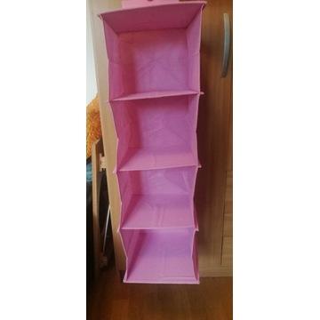 Organizer składany  wisząca półka do szaf