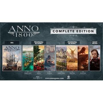 KONTO EPIC GAMES ANNO 1800 COMPLETE EDITION NOWE