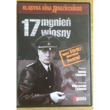 DVD zestaw 17 mgnień wiosny