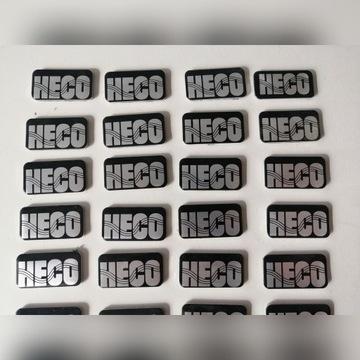 Emblematy znaczki heco