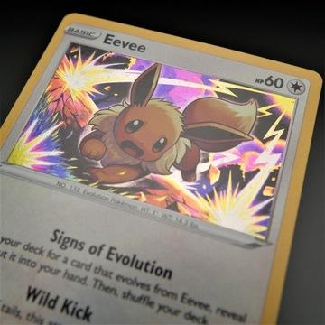 Eevee Promo Chilling Reign Pokemon SWSH118 MINT