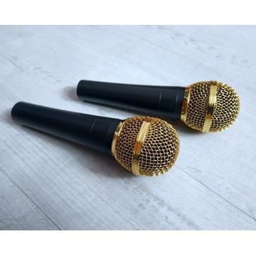 Mikrofon dynamiczny dla rapera, szerokie pasmo