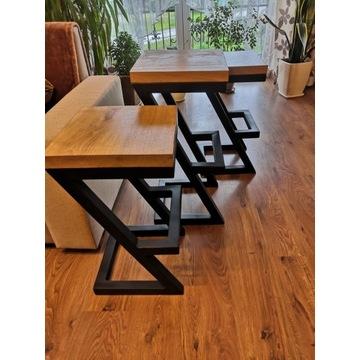 Hoker, krzesło industrialny