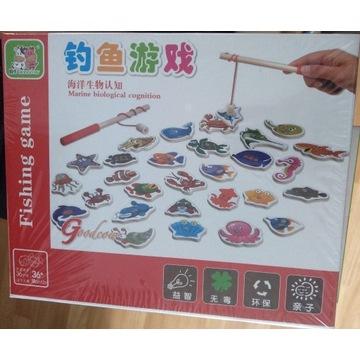 Łowienie rybek - gra zręcznościowa dla dzieci