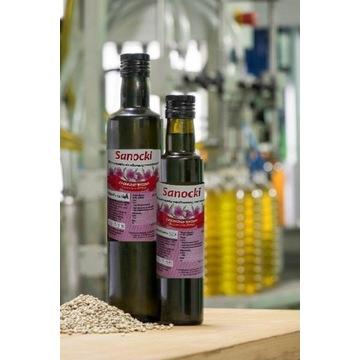 Olej z ostropestu tłoczony na zimno 0,25L Sanockie