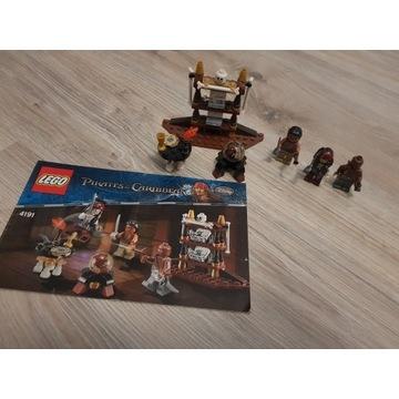 LEGO 4191 Piraci z Karaibów - Kajuta kapitana