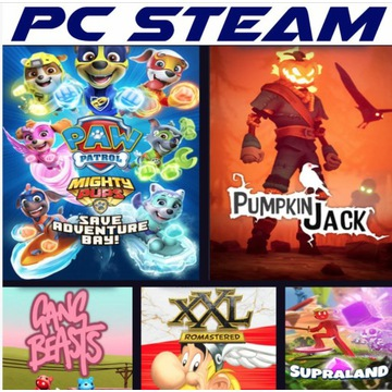 Pumpkin Jack PSI PATROL I Gang Beasts I 5 GIER PC