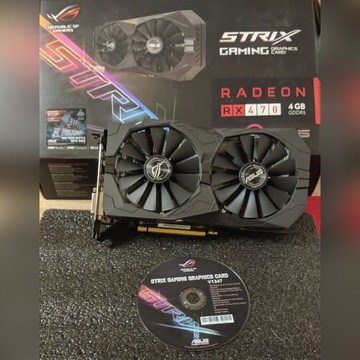 ASUS ROG Strix RX 470 4GB Gaming GDDR5 (256 Bit)