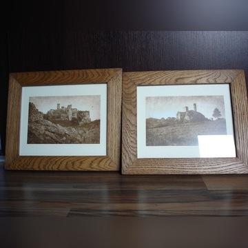 Ramki drewniane dębowe na zdjęcia obrazki dąb