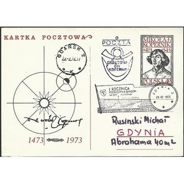 Poczta okrętowa 1972 Rocznica Podniesienia Bandery