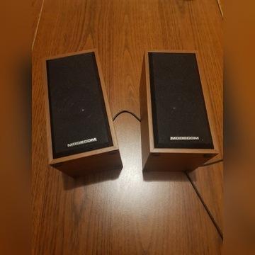 Głośniki Modecom - raz użyte! Stan jak nowe