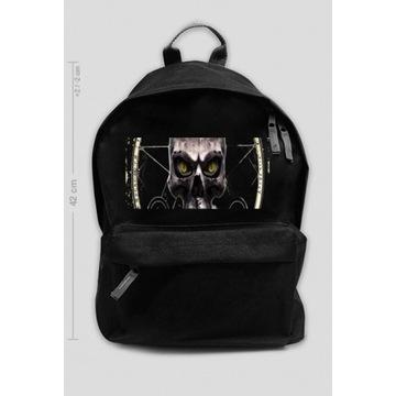 Plecak szkolny duży SKULL pentagram
