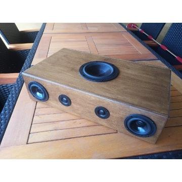 Soundbar bluetooth ho end drewno naturalne