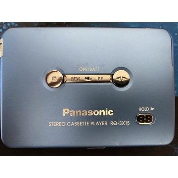 Walkman Panasonic RQ-SX15 + akumulator + ładowarka