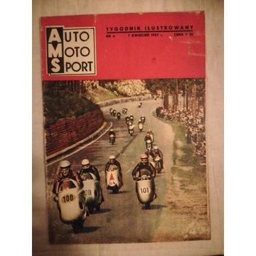 Auto Moto Sport kwiecień 1957