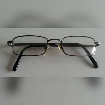 męskie okulary zerówki - cienkie czarne oprawki