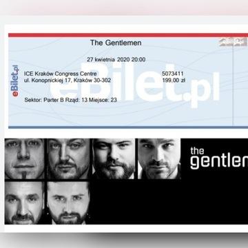 """Bilet na koncert """"The Gentlemen"""" w ICE"""