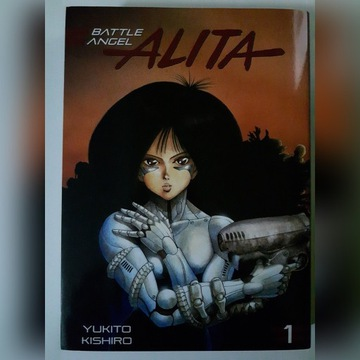 Battle Angel Alita - manga - edycja deluxe - tom 1