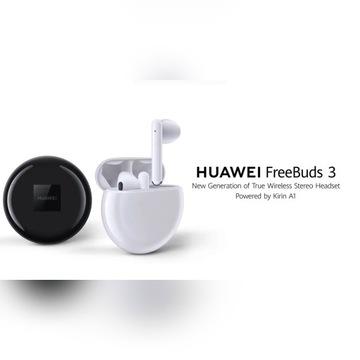 Słuchawki bezprzewodowe Freebuds 3 Huawei