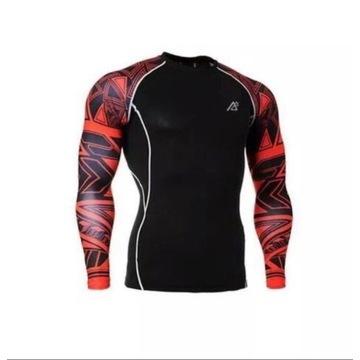 Koszulka męska na siłownię, trening   XL
