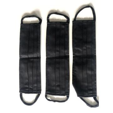 Maseczka bawełniana wielokrotnego użytku-czarna