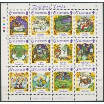 Boże Narodzenie 372-384**Guernsey 1986r czysty